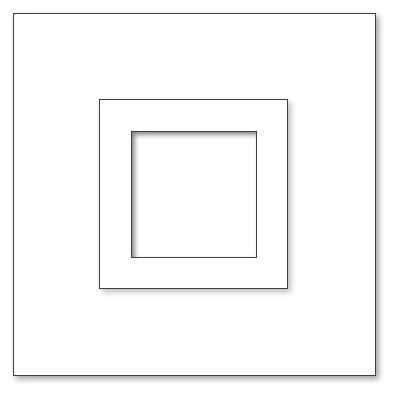 Picture Frame - A6 Square