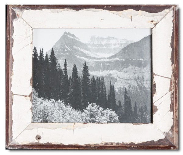 Basic Reclaimed wood frame for picture size 20 x 25 cm