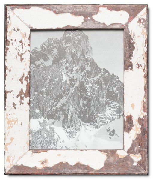 Basic rustic timber photo frame for photo size 20 x 25 cm