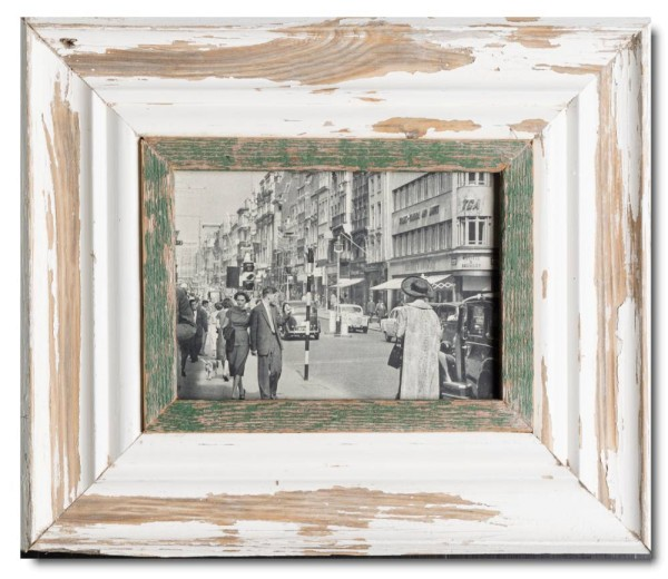 Wide rustic timber frame for picture size A5
