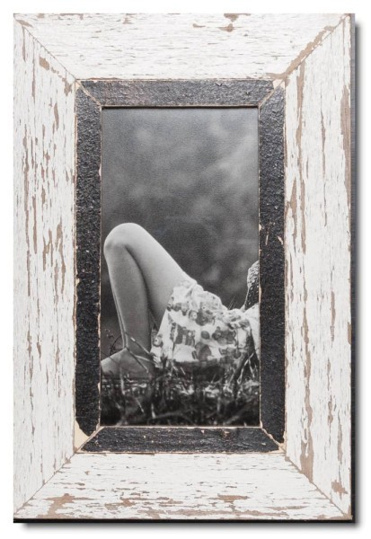 Panoramic rustic timber frame for photo format 2:1