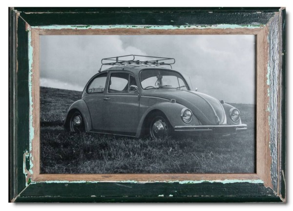 Basic rustic timber frame for photo format 25 x 38 cm