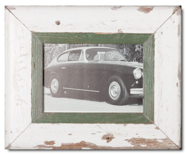 Rustic timber photo frame